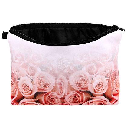"""Kosmetik Tasche mit Motiv """"Verblassende Rosen"""""""
