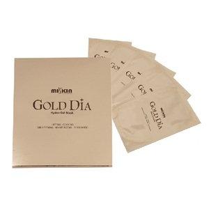 "Miskin ""Gold Dia Hydro Gel Mask"" Гидро-гелевая маска, 5шт. 260гр."