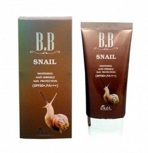 "EKEL ""BB Cream (Tube) Snail"" ББ-крем с фильтратом слизи улиток, 50мл."