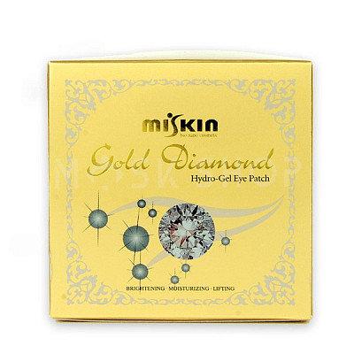 Miskin Gold Diamond HydroGel EyePatch(Medium)Гидрогелевые патчи с золотом, 60шт