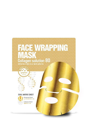 Berrisom, Face Wrapping Mask Collagen Solution 80