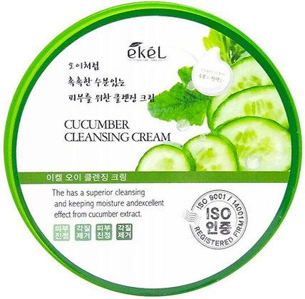 """EKEL """"Massge Cream Cucumber"""" Массажный крем с экстрактом огурца, 300мл."""