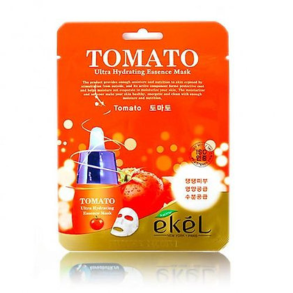 """EKEL """"Mask Pack Tomato"""" Маска увлажняющая с экстрактом томата, 25гр."""