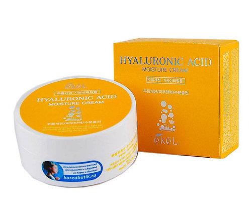 "EKEL ""Moisture Cream Hyaluronic Acid"" Крем с гиалуроновой кислотой, 100 гр."