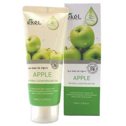 """EKEL """"Peeling Gel Apple"""" пилинг-гель для лица «Яблоко», 100мл."""