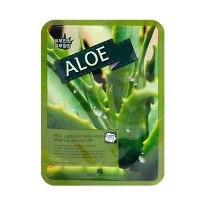 May Island Real Essense Aloe Mask Pack Тканевая маска с алоэ, 10шт.25мл.