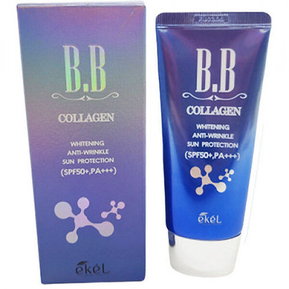 "EKEL ""BB Cream (Tube) Collagen"" BB крем с коллагеном, 50мл."