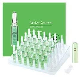 THE SAEM Active Source Peeling Ampoule.Ампульная эссенция отшелушивание,2млх30шт