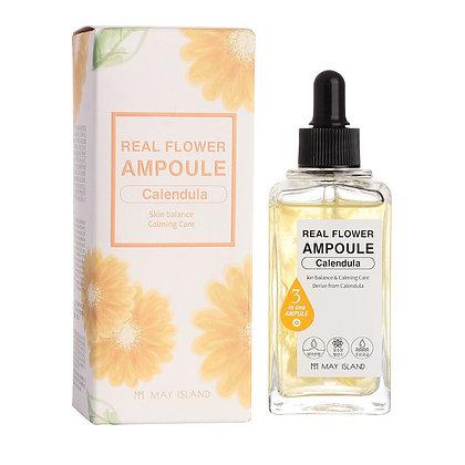 May Island Real Flower Ampoule Calendula Ампульная сыворотка с календулой, 100мл