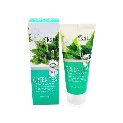 "EKEL""Foam Cleanser Green Tea""Пенка для умывания с экстрактом зеленого чая,100мл"