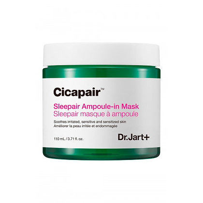 DR.JART+ CICAPAIR SLEEPAIR AMPOULE-IN MASK Маска ночная восстанавливающая 110мл, корейская косметика оптом, Rich cosmetic