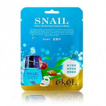 "EKEL ""Mask Pack Snail"" Маска с фильтратом секреции улитки, 25гр."