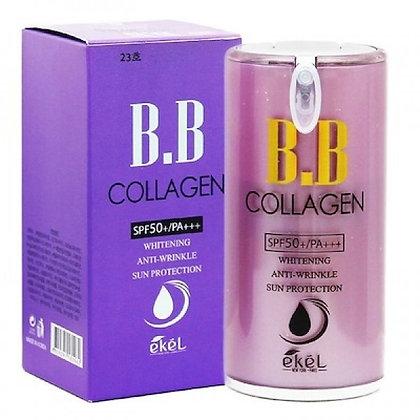"""EKEL """"Collagen BB Cream (Pump)"""" BB Крем с калогеном, 50мл."""