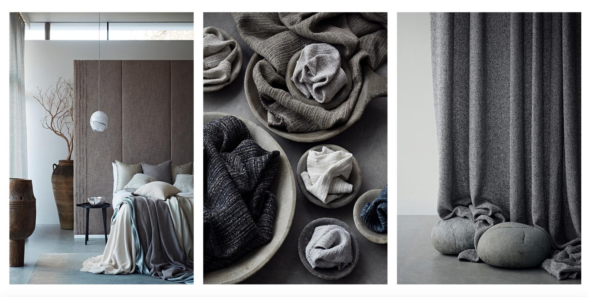 Atelier- Gordijnen - Textiel - Interieur - Stoffen - Meubels