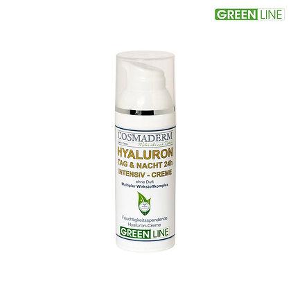 Green Line, Hyaluron Tag & Nacht Intensiv-Creme
