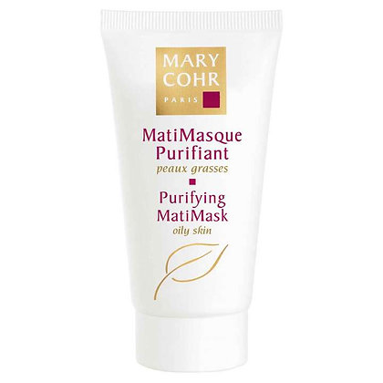 Mary Cohr, Matimasque Purifiant, Talgreduzierende Maske.Jede Haut (fettige Haut).