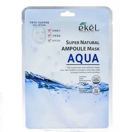 """EKEL """"Ampoule Mask Aqua"""" Маска с гидролизованным коллагеном, 25гр."""