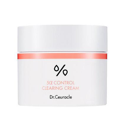 Dr. Ceuracle 5α CONTROL CLEARING CREAM Себорегулирующий крем для лица 50гр.