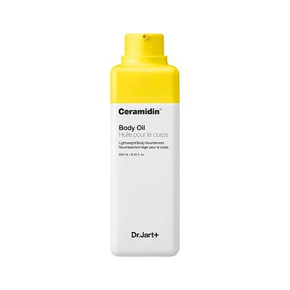 Dr.Jart+ Ceramidin Body Oil 250ml Увлажняющее масло для тела с керамидами, корейская косметика оптом, Rich cosmetic