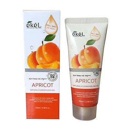 """EKEL """"Peeling Gel Apricot """" Пилинг-гель для лица с экстрактом Абрикоса, 100мл."""