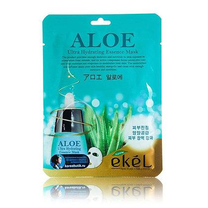 "EKEL ""Mask Pack Aloe"" Маска с экстрактом алоэ, 25гр."