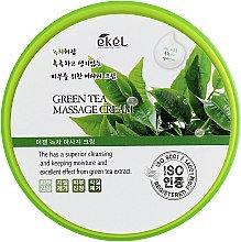 """EKEL """"Massge Cream Green Tea"""" Массажный крем с экстрактом зеленого чая, 300мл."""