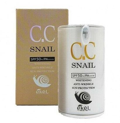 """EKEL """"CC Cream (Pump)"""" СС крем с тональным эффектом, 50мл."""