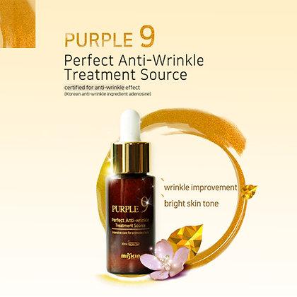 "Miskin Miskin ""PURPLE9 Perfect Anti-Wrinkle Treatment Source"",30мл. 55гр."