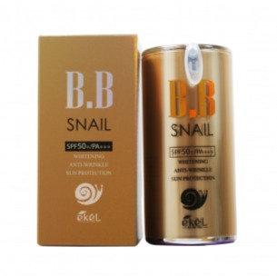 """EKEL """"Snail BB Cream (Pump)"""" BB Крем с экстрактом улитки, 50мл."""