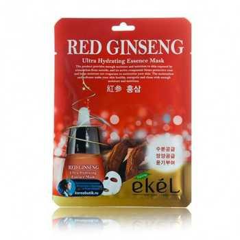 "EKEL ""Mask Pack Red ginseng"" Маска с экстрактом красного женьшеня, 25гр"