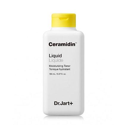 Dr.Jart+ Ceramidin Liquid Moisturizing Toner 150ml Увлажняющий ликвидный тонер, корейская косметика оптом, Rich cosmetic