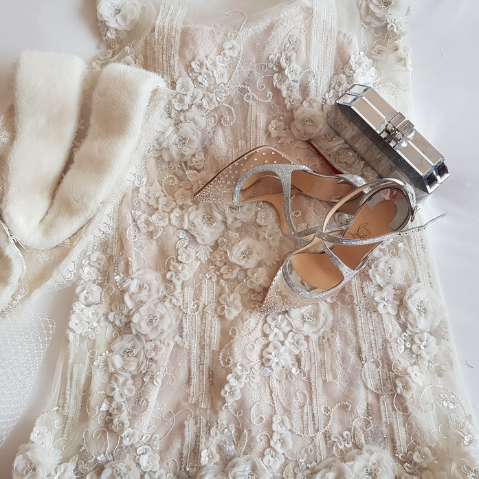 Bridal Cocktail Couture Dress
