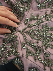 Detail corset of Gown