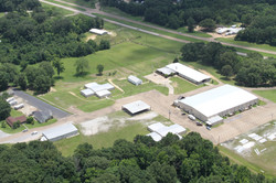 Aerial pic of the camp grounds