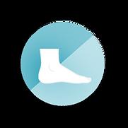 Foot circle icon.png