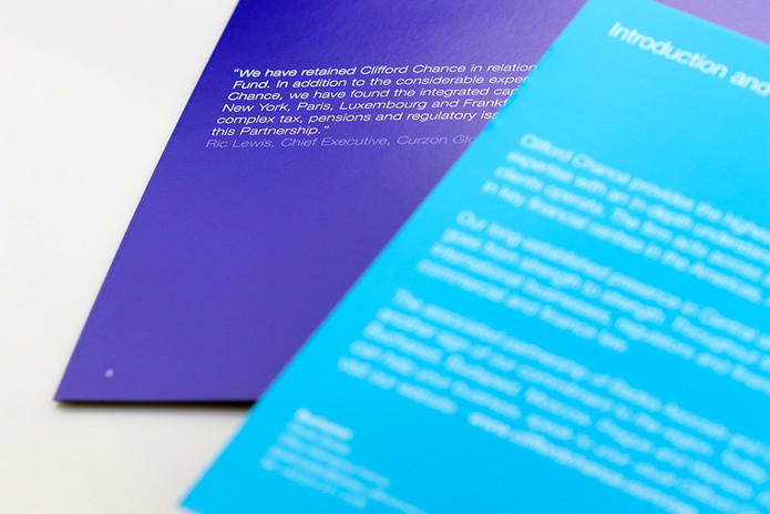 Clifford Chance brochures