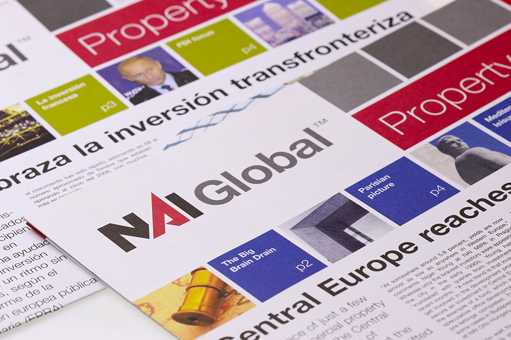 NAI Global newspaper