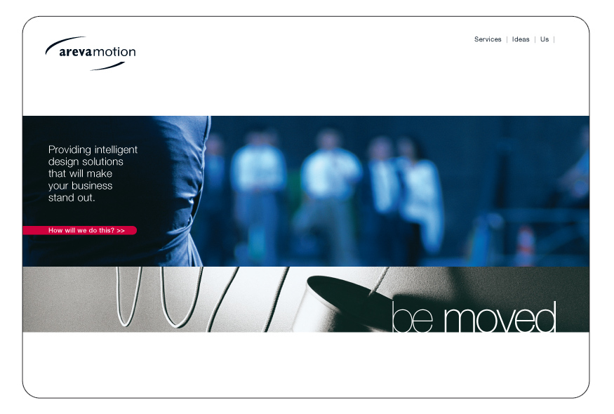 Areva Motion site design