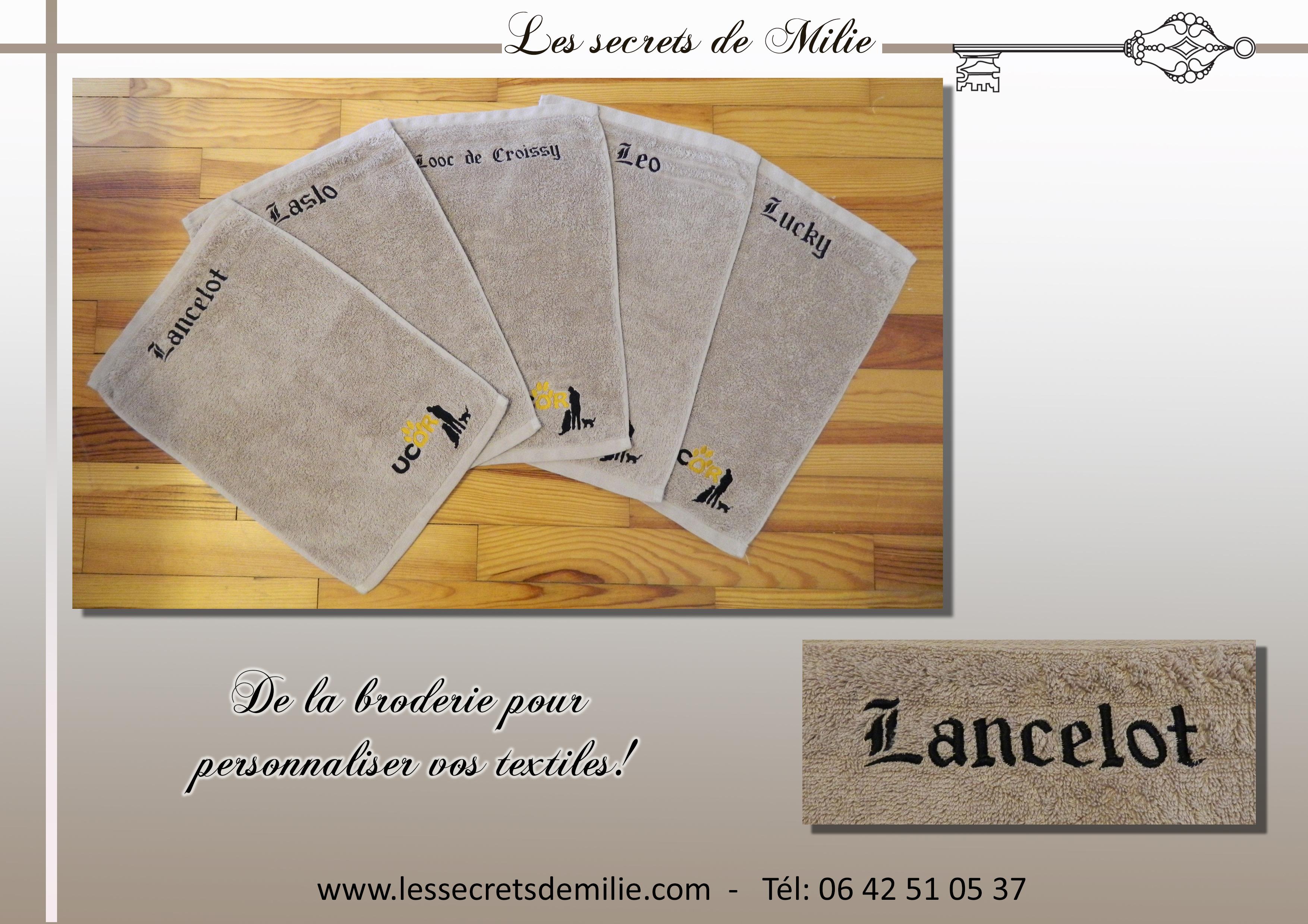 Broderie Les secrets de Milie - UCOR