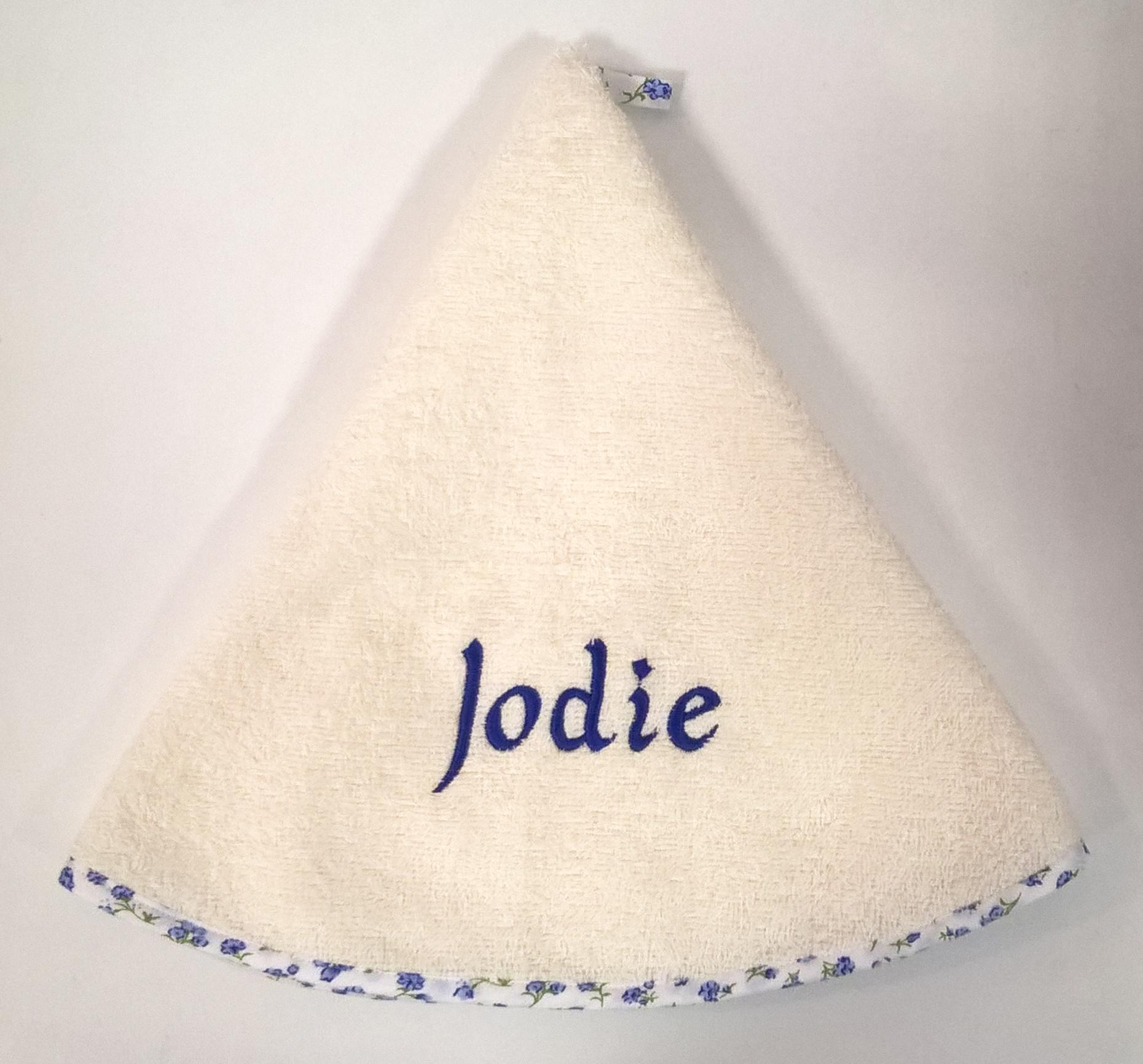 Serviette ronde Jodie