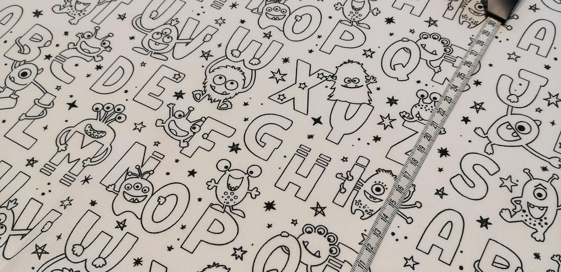 9- A colo Alphabet