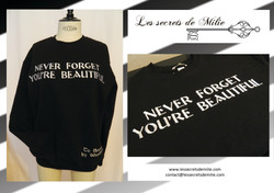 Broderie sur pull
