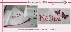 Broderie Les secrets de Milie - Melina