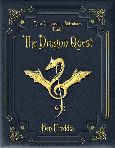 www.MusicCompositionAdventures.com Keywords: The Dragon Quest, Cover, Music Composition Adventures, Music Composition, Make Your Own Music, Songwriting, Kids, How to Write a Song, For Kids, Music Education, Study Music, Teaching Music Through Composition, Story, Teaching Through Story, Use of Story, Composing, Composition, Music, Children, Music Notes,