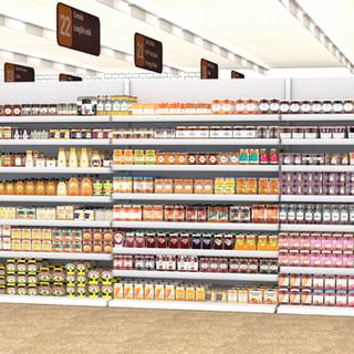 Spreads aisle