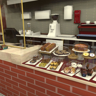 Costa sweet counter