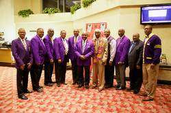 AAFF-Members of the Kappa Upsilon Chapter of Omega Psi Phi Fraternity
