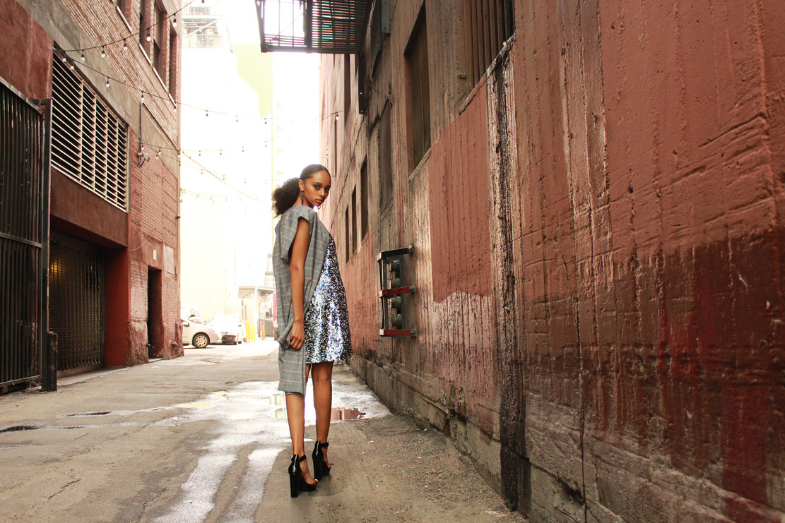 Photographer @LeiPhillips  Model @Justygirll Justice Myles Mua @Solunasmakeup