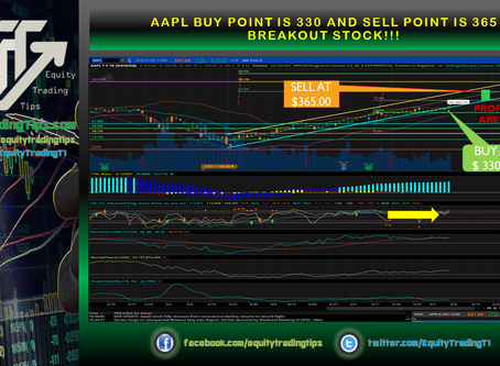 AAPL buy point is 330 and sell point is 365 breakout STOCK!!!