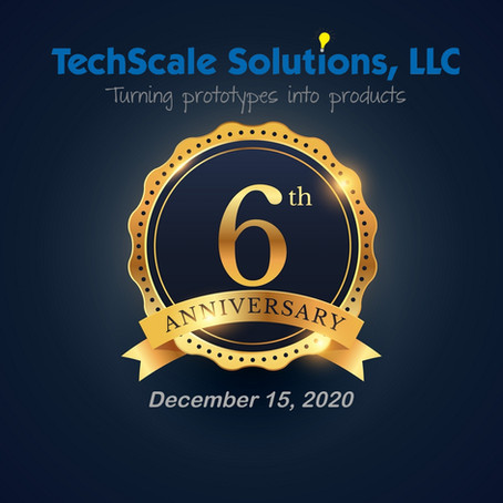 TechScale Solutions Celebrates 6 years in business